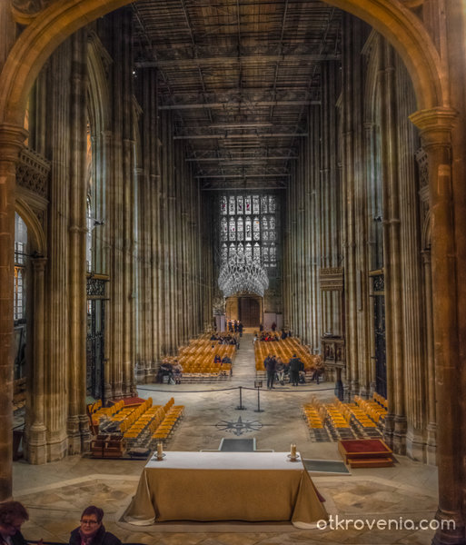 Canterbury Cathedral - Perpendicular Style Nave