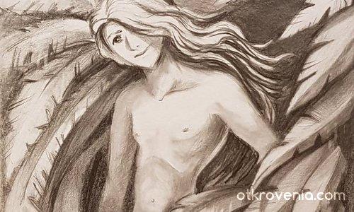 Мокър от Облаците, Ангел.