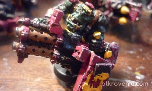 Warhammer 40k-Ork Hevy Weapons.