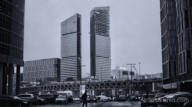Сред небостъргачи