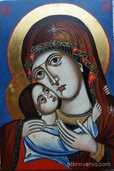 Пресвeта Богородица Умиление