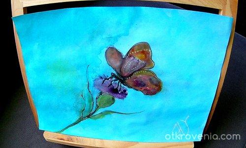 Пеперуда върху цвете