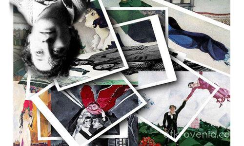Марк Шагал и любовта в творчеството му