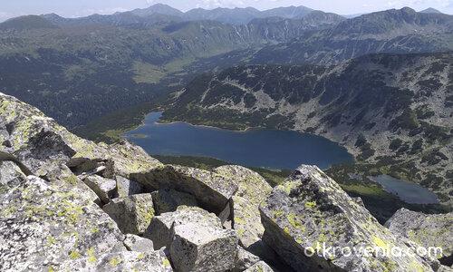 Поглед от връх Рилец днес