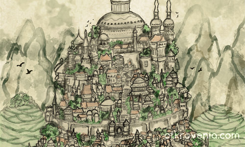 Градът на Петте стълба