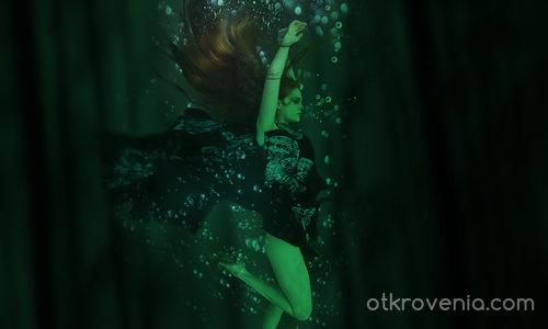 Дълбоко в гората, под водата