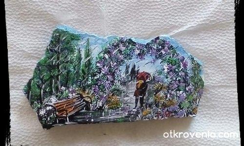 Рисувани камъчета с акрил ли