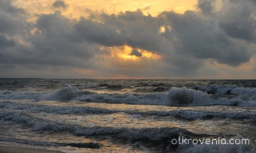 Бурно море -почивка