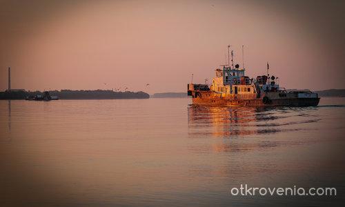 Залез над Дунав
