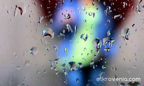 Очакваща в дъжда