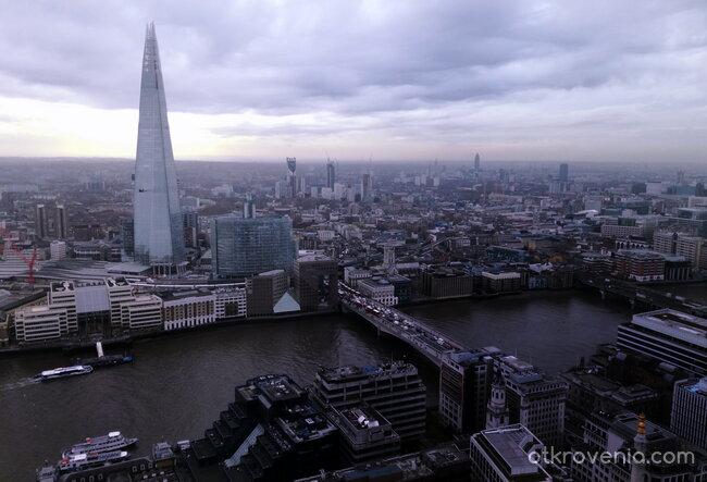 Лондон - поглед от високо