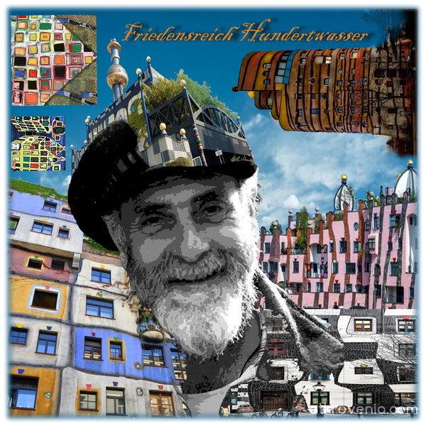 Цветния свят на Фриденсрайх Хундертвасер
