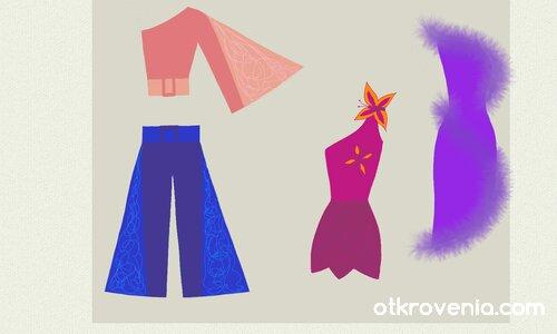 Модни скици 6