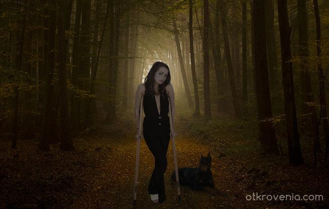 Дамата с кученцето