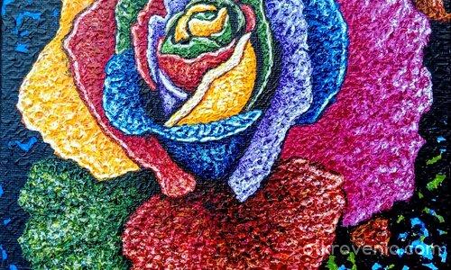 Роза- тест на нови бои