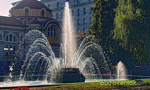 Есенна съботна сутрин в София