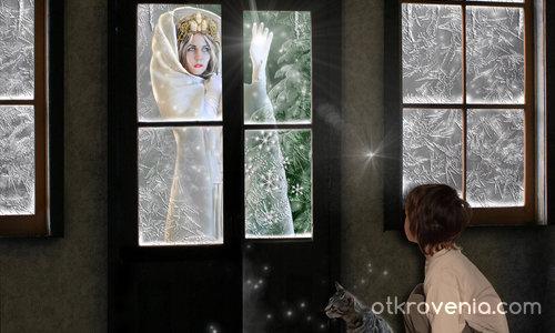 Зимата през прозореца