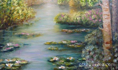 Езерото с лилиите