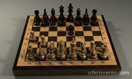 Партия шах