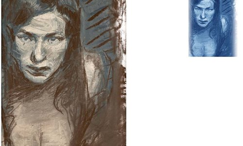 портрет на жена  (детайл)