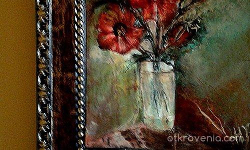 Полски цветя в чаша