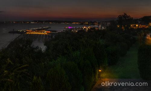 Свети Влас - вечерна панорама