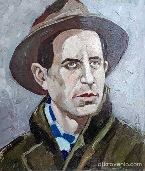 Портрет на поета Николай Рубцов
