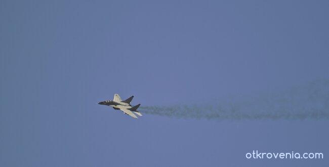 Миг-29 в полет