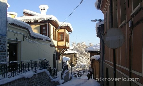 Студената красота на стария град Пловдив!