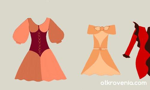 Модни скици 3