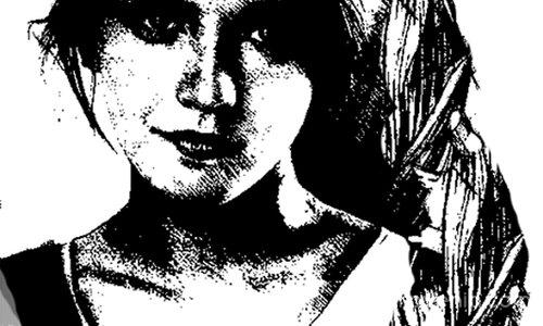 Графичен портрет 8