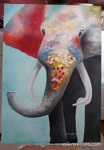 Цветното слонче