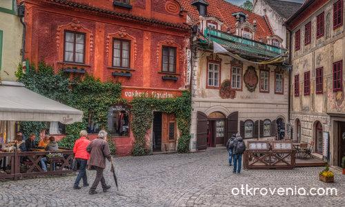 По уличките на Cesky Krumlov