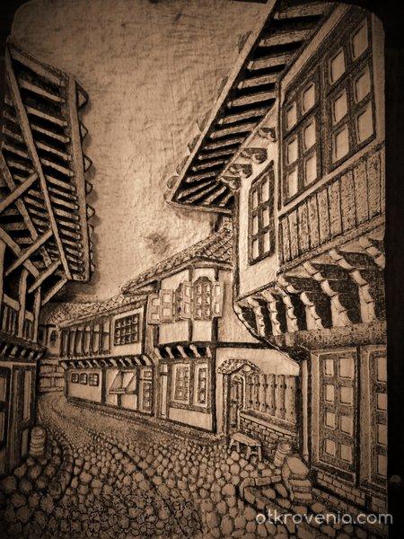 Стария град...