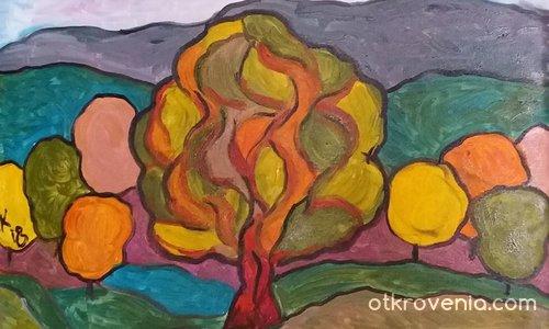 Autumn tree / Есенно дърво