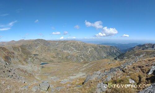 Панорама от Додов връх (2661м)