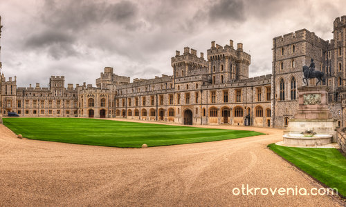 Windsor Castle - Upper Ward