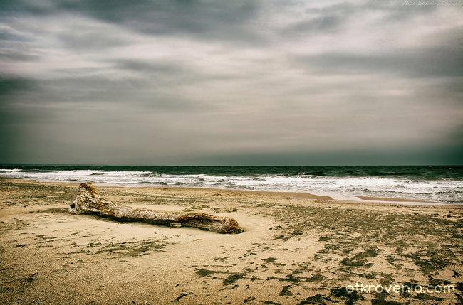 Октомври край морето...