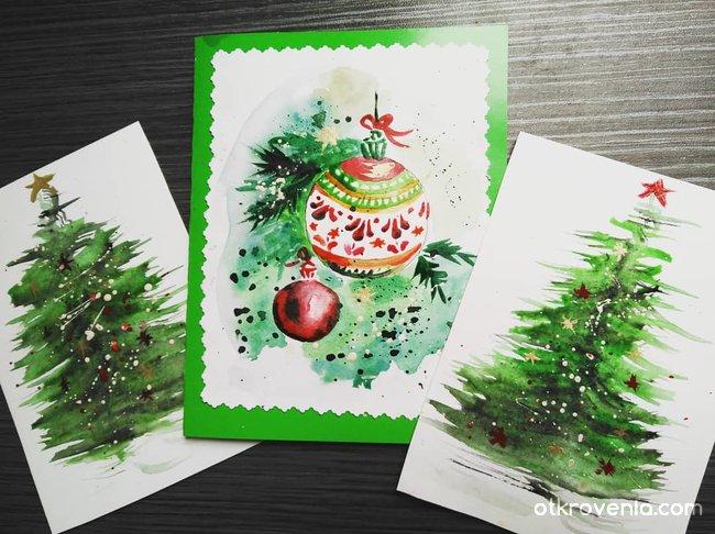 Коледни картички