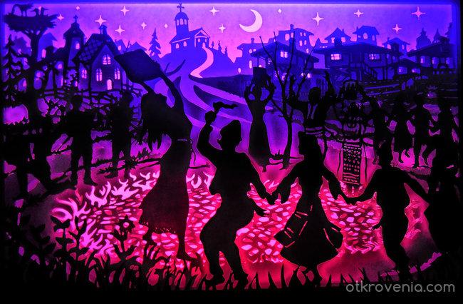 Нестинари-танц върху жарава