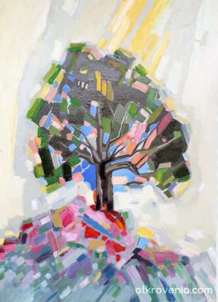 Дърво на хълма