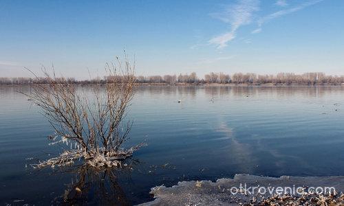 Януари край Дунав