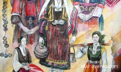 Разнообразие от цветове и форми в бълг. фолклор