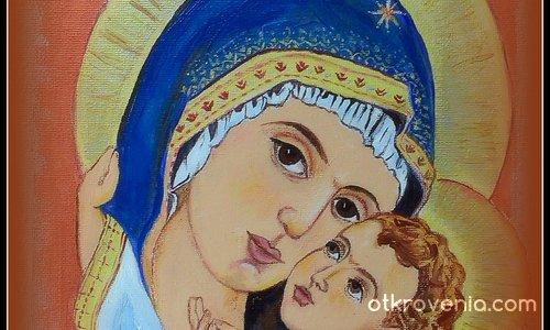 Майка и син