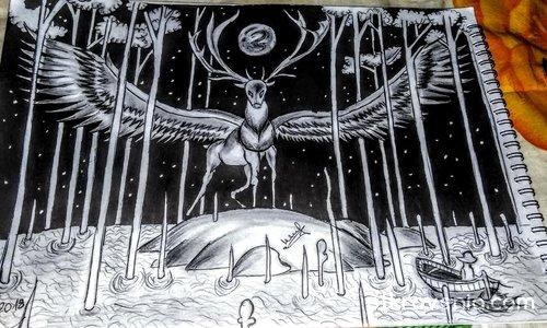 Еленът, който имаше крила - чудесата в нощта
