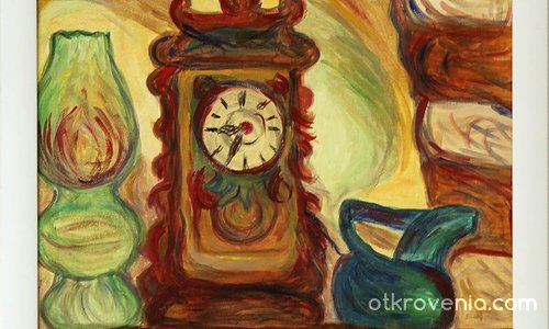 The clock / Натюрморт с часовник