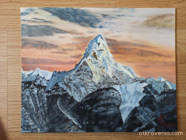 Ама Даблам, Хималаи