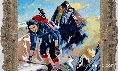 Алпинистка