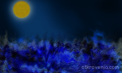 Морето нощем