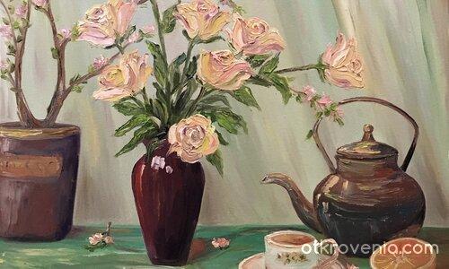 """,,С аромат на рози и плодов чай"""""""